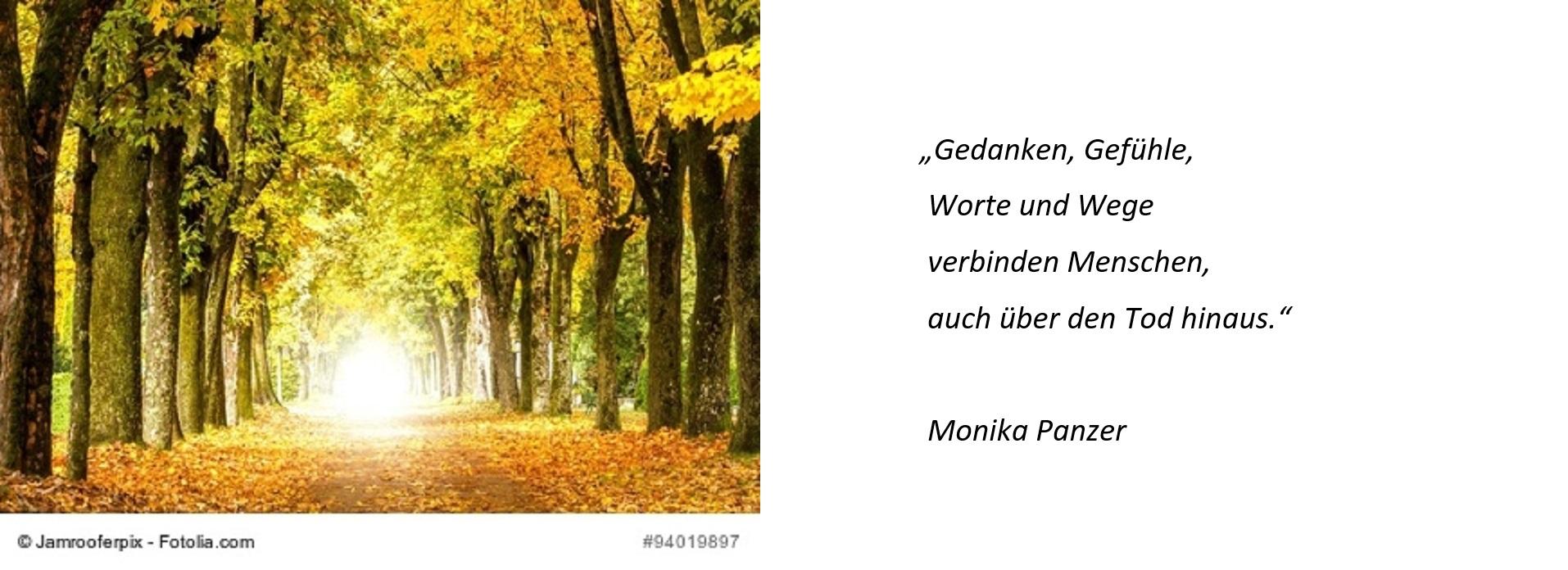 Monika Panzer Trauerrednerin im Raum Ulm und München und darüber hinaus